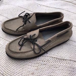 Men's Sherry Topsider slip on shoes 11